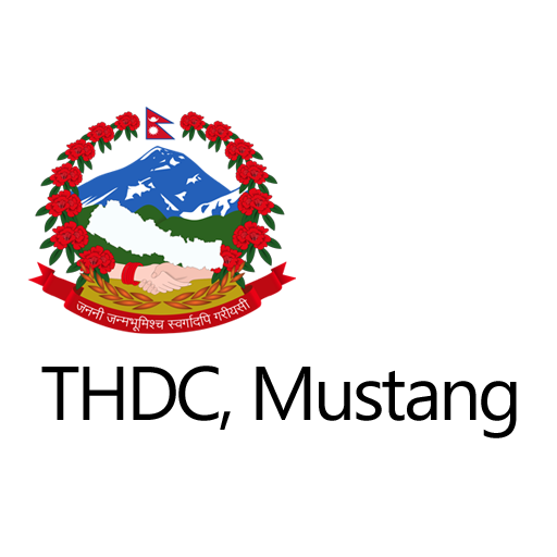 Logo of the THDC, Mustang